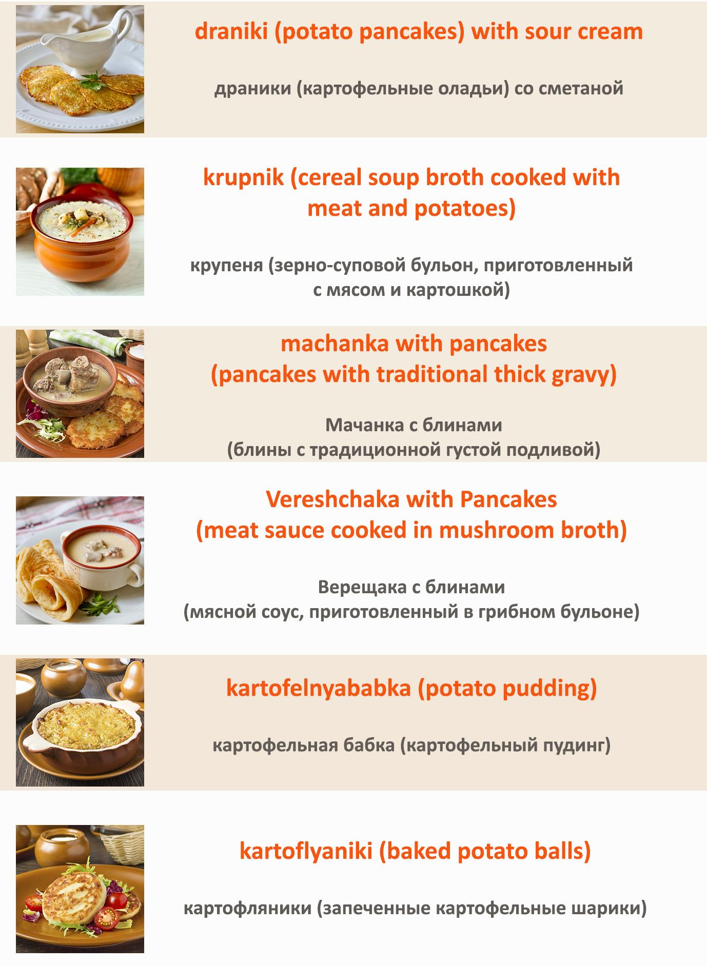 список блюд2