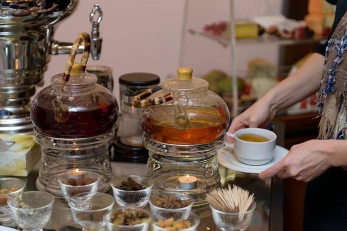 Чайный шанс для ресторанов