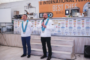 II Международный фестиваль шеф-поваров BEST CHEF